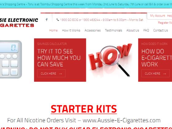Aussie E Cigarettes